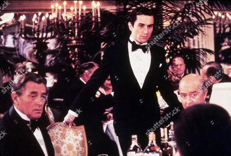 FILM STILLS OF 'LAST TYCOON' WITH 1976, ROBERT DE NIRO, ELIA KAZAN, RAY MILLAND, ROBERT MITCHUM IN 1976
