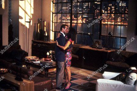 FILM STILLS OF 'F/X 2' WITH 1991, BRYAN BROWN, RICHARD FRANKLIN, ROMANCE, RACHEL TICOTIN IN 1991