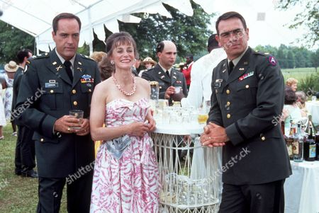 FILM STILLS OF 'BLUE SKY' WITH 1991, POWERS BOOTHE, TOMMY LEE JONES, TONY RICHARDSON, CARRIE SNODGRESS IN 1991