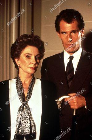 FILM STILLS OF 'DARK SHADOWS - TV' WITH 1991, BEN CROSS, JEAN SIMMONS IN 1991