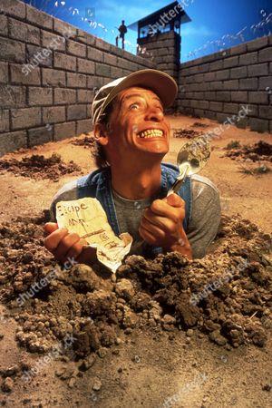 FILM STILLS OF 'ERNEST GOES TO JAIL' WITH 1990, JOHN CHERRY, JIM VARNEY IN 1990