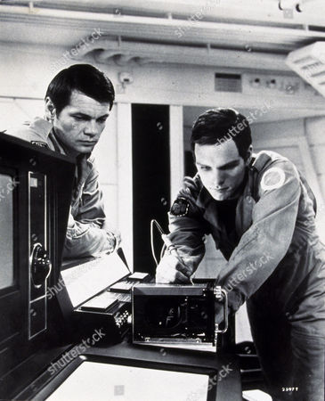 FILM STILLS OF '2001: A SPACE ODYSSEY' WITH 1969, KEIR DULLEA, STANLEY KUBRICK, GARY LOCKWOOD IN 1969