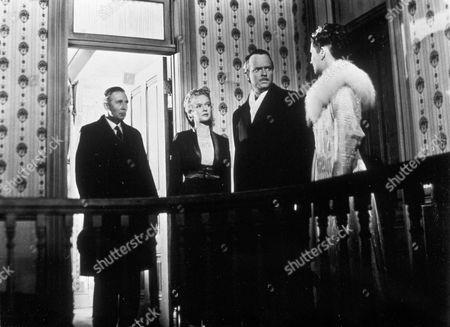FILM STILLS OF 'CITIZEN KANE' WITH 1941, RAY COLLINS, DOROTHY COMINGORE, RUTH WARRICK, ORSON WELLES IN 1941