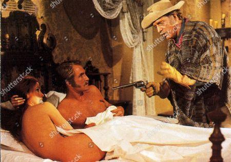 FILM STILLS OF 'VALDEZ IS COMING' WITH 1970, BURT LANCASTER, EDWIN SHERIN IN 1970