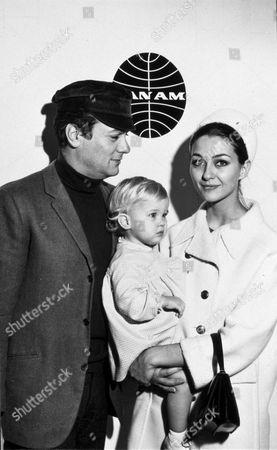 FILM STILLS OF 1966, ALEXANDRA CURTIS, TONY CURTIS, FAMILIES (REAL), CHRISTINE KAUFMANN, TRAVELS IN 1966