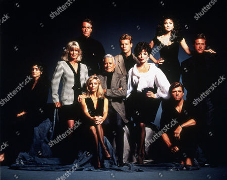 FILM STILLS OF 'DYNASTY: THE MINISERIES - TV' WITH 1991, KATHLEEN BELLER, MAXWELL CAULFIELD, JOAN COLLINS, AL CORLEY, ENSEMBLE, LINDA EVANS, JOHN FORSYTHE, JOHN JAMES, HEATHER LOCKLEAR, ROBIN SACHS, EMMA SAMMS IN 1991