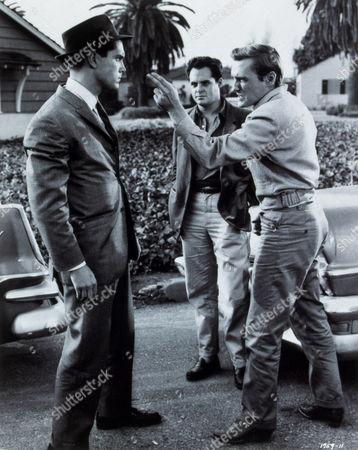 FILM STILLS OF 'KEY WITNESS' WITH 1960, COREY ALLEN, DENNIS HOPPER, JEFFREY HUNTER, PHIL KARLSON IN 1960