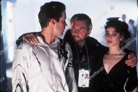FILM STILLS OF 'CUTTING EDGE' WITH 1992, ROY DOTRICE, PAUL MICHAEL GLASER, MOIRA KELLY, D B SWEENEY IN 1992