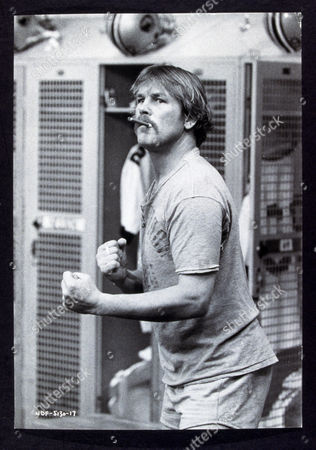 FILM STILLS OF 'NORTH DALLAS FORTY' WITH 1979, TED KOTCHEFF, NICK NOLTE, SMOKERS IN 1979