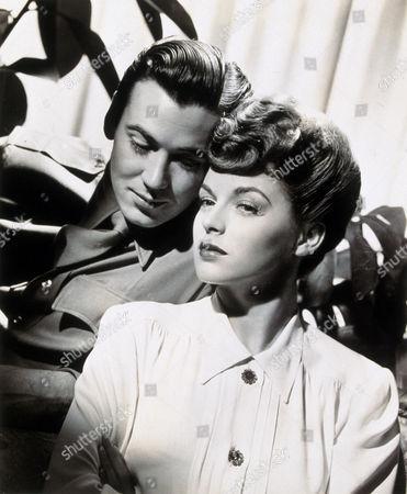 FILM STILLS OF 1942, BILL CARTER, MARGUERITE CHAPMAN IN 1942