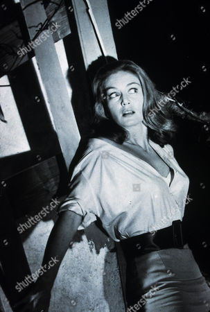 Stock Image of FILM STILLS OF 'DAY OF THE TRIFFIDS' WITH 1963, NICOLE MAUREY, SCREAMING, STEVE SEKELY, WOMEN IN DANGER, ANGRY IN 1963