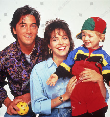 FILM STILLS OF 'BABY TALK - TV' WITH 1992, SCOTT BAIO, PAUL-RYAN JESSUP, MARY PAGE KELLER IN 1992