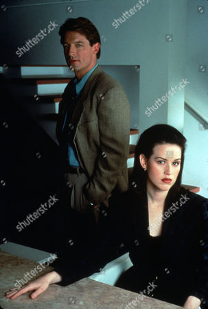 FILM STILLS OF 'FATAL LOVE' WITH 1992, PERRY KING, MOLLY RINGWALD IN 1992