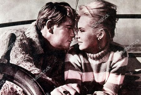 FILM STILLS OF 'MY BLOOD RUNS COLD' WITH 1965, WILLIAM CONRAD, TROY DONAHUE, JOEY HEATHERTON IN 1965