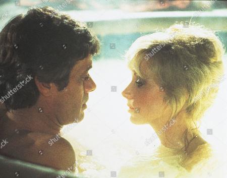 Stock Image of FILM STILLS OF 'SEDUCTION' WITH 1982, MORGAN FAIRCHILD, MICHAEL SARRAZIN, DAVID SCHMOELLER IN 1982
