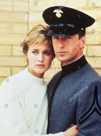 FILM STILLS OF 'DRESS GRAY - TV' WITH 1986, ALEC BALDWIN, ELIZABETH HAND IN 1986