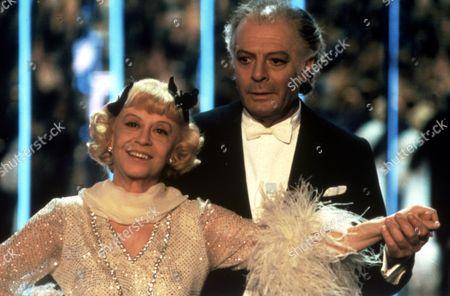 FILM STILLS OF 'GINGER AND FRED' WITH 1986, FEDERICO FELLINI, GIULIETTA MASINA, MARCELLO MASTROIANNI IN 1986