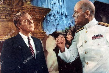 FILM STILLS OF 'HONEYMOON MACHINE' WITH 1961, DEAN JAGGER, STEVE McQUEEN, RICHARD THORPE IN 1961