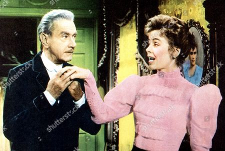 FILM STILLS OF 'REMARKABLE MR. PENNYPACKER' WITH 1959, HENRY LEVIN, DOROTHY McGUIRE, CLIFTON WEBB IN 1959