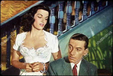 FILM STILLS OF 'LAS VEGAS STORY' WITH 1952, HOAGY CARMICHAEL, JANE RUSSELL, ROBERT STEVENSON IN 1952