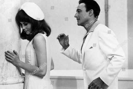 FILM STILLS OF 'YOUNG GIRLS OF ROCHEFORT' WITH 1968, JACQUES DEMY, FRANCOISE DORLEAC, GENE KELLY IN 1968