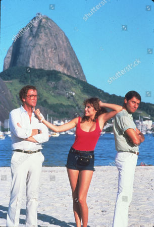 FILM STILLS OF 'BLAME IT ON RIO' WITH 1984, JOSEPH BOLOGNA, MICHAEL CAINE, STANLEY DONEN, MICHELLE JOHNSON IN 1984