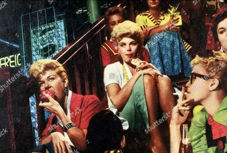 FILM STILLS OF 'PAJAMA GAME' WITH 1957, DORIS DAY, STANLEY DONEN, BARBARA NICHOLS IN 1957