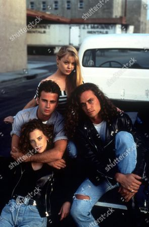 FILM STILLS OF 'HEIGHTS - TV' WITH 1992, CHERYL POLLACK, CHARLOTTE ROSS, SHAWN THOMPSON, JAMES WALTERS IN 1992