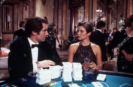 "FILM STILLS OF 'LICENCE TO KILL' WITH 1989, TIMOTHY AS ""JAMES BOND DALTON, JOHN GLEN, JAMES BOND, CAREY LOWELL IN 1989"