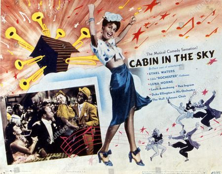 FILM STILLS OF 'CABIN IN THE SKY' WITH 1943, EDDIE ANDERSON, LENA HORNE, VINCENTE MINNELLI, ETHEL WATERS IN 1943