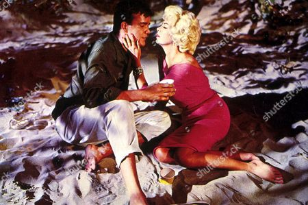 Stock Picture of FILM STILLS OF 'WHERE THE BOYS ARE' WITH 1960, BEACH, JIM HUTTON, HENRY LEVIN, BARBARA NICHOLS, ROMANCE IN 1960
