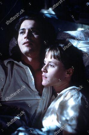 FILM STILLS OF 'BENNY & JOON' WITH 1993, JEREMIAH CHECHIK, JOHNNY DEPP, MARY STUART MASTERSON IN 1993