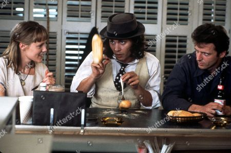 FILM STILLS OF 'BENNY & JOON' WITH 1993, JEREMIAH CHECHIK, JOHNNY DEPP, MARY STUART MASTERSON, AIDAN QUINN IN 1993
