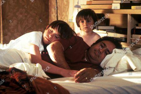 FILM STILLS OF 'JACK THE BEAR' WITH 1993, DANNY DeVITO, MARSHALL HERSKOVITZ, MIKO HUGHES, ROBERT J STEINMILLER JR IN 1993