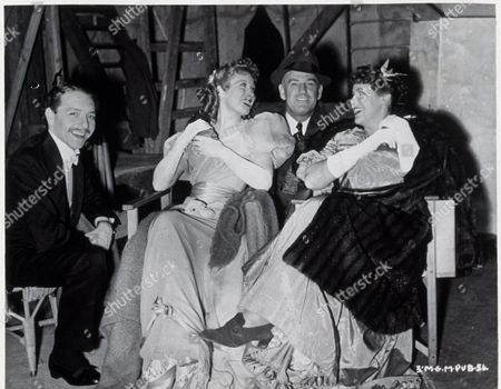 Stock Picture of FILM STILLS OF 'GOODBYE, MR. CHIPS' WITH 1939, BEHIND THE SCENES, JUDITH FURSE, GREER GARSON, PAUL HENREID, SAM WOOD IN 1939