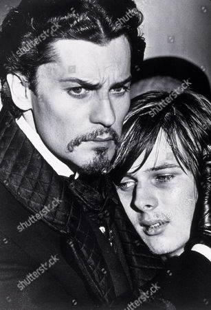 FILM STILLS OF 'LUDWIG' WITH 1972, HELMUT BERGER, JOHN MOULDER BROWN, LUCHINO VISCONTI IN 1972