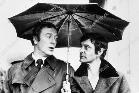 FILM STILLS OF 'SILVER BEARS' WITH 1978, MICHAEL CAINE, LOUIS JOURDAN, IVAN PASSER IN 1978