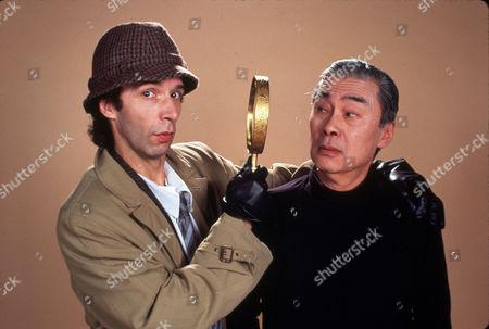 FILM STILLS OF 'SON OF THE PINK PANTHER' WITH 1993, ROBERTO BENIGNI, BLAKE EDWARDS, BURT KWOUK, PINK PANTHER FILMS IN 1993