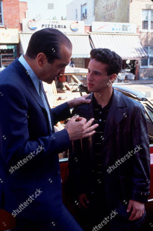 Stock Image of FILM STILLS OF 'BRONX TALE' WITH 1993, LILLO BRANCATO, ROBERT De NIRO, CHAZZ PALMINTERI IN 1993
