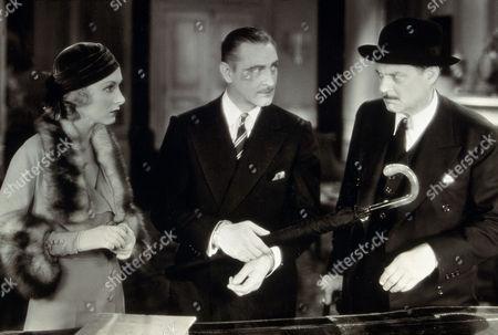 FILM STILLS OF 'ARSENE LUPIN' WITH 1932, JOHN BARRYMORE, LIONEL BARRYMORE, JACK CONWAY, KAREN MORLEY IN 1932