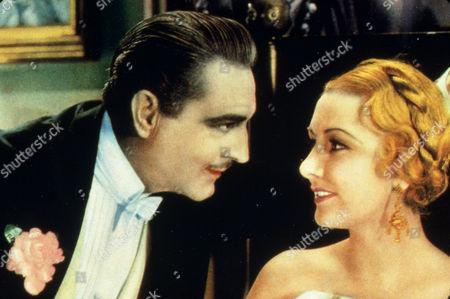 FILM STILLS OF 'ARSENE LUPIN' WITH 1932, JOHN BARRYMORE, JACK CONWAY, KAREN MORLEY IN 1932
