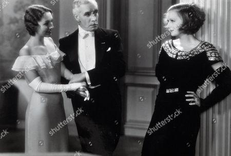 FILM STILLS OF 'INSPIRATION' WITH 1931, CLARENCE BROWN, GRETA GARBO, KAREN MORLEY, LEWIS STONE IN 1931