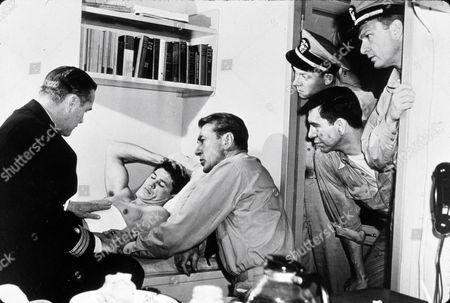 Stock Picture of Eddie Albert, Charles Bronson, Gary Cooper, Ensemble, Richard Erdman, Henry Hathaway, Jack Webb