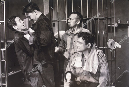 FILM STILLS OF 'DAY OF RECKONING' WITH 1933, BEHIND BARS (IN JAIL), RICHARD DIX IN 1933