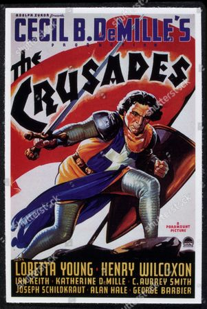 FILM STILLS OF 'CRUSADES' WITH 1935, CECIL B DeMILLE, HENRY WILCOXON IN 1935