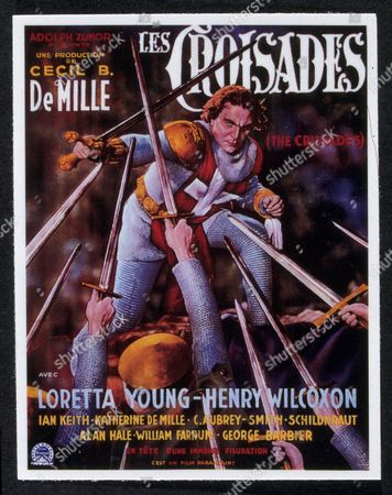 FILM STILLS OF 'CRUSADES - (BELGIUM)' WITH 1935, CECIL B DeMILLE, HENRY WILCOXON IN 1935
