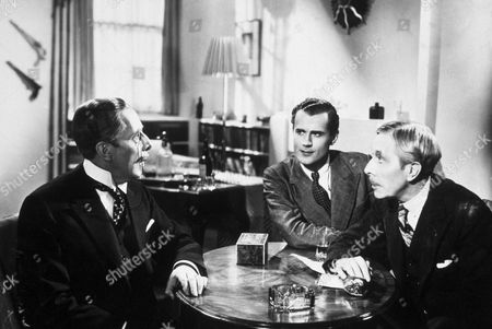 FILM STILLS OF 'MAN OF AFFAIRS' WITH 1937, GEORGE ARLISS, TWINS IN 1937