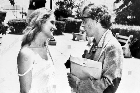 FILM STILLS OF 'STARDUST MEMORIES' WITH 1980, WOODY ALLEN, MARIE-CHRISTINE BARRAULT IN 1980