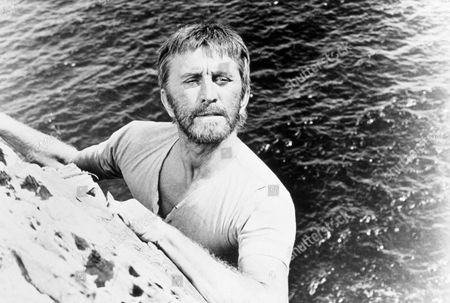 FILM STILLS OF 'LIGHT AT THE EDGE OF THE WORLD' WITH 1971, KEVIN BILLINGTON, KIRK DOUGLAS IN 1971