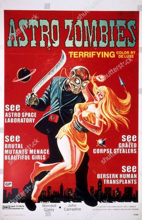 FILM STILLS OF 'ASTRO ZOMBIES' WITH 1967, TED V MIKELS IN 1967